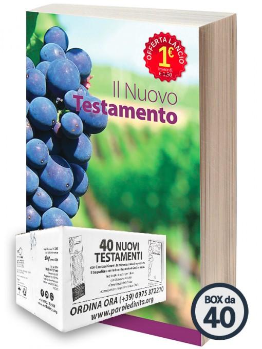Il Nuovo Testamento - 40 copie